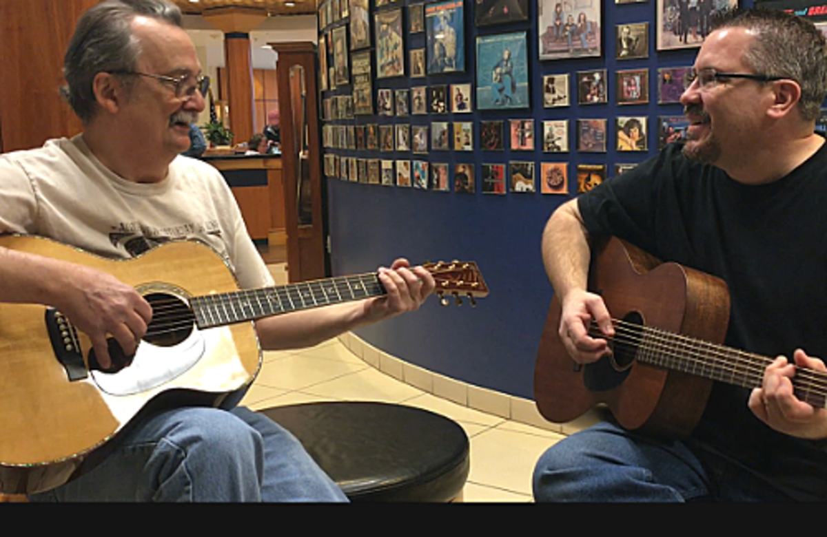 Maury & John Dropped By the Martin Guitar Factory!