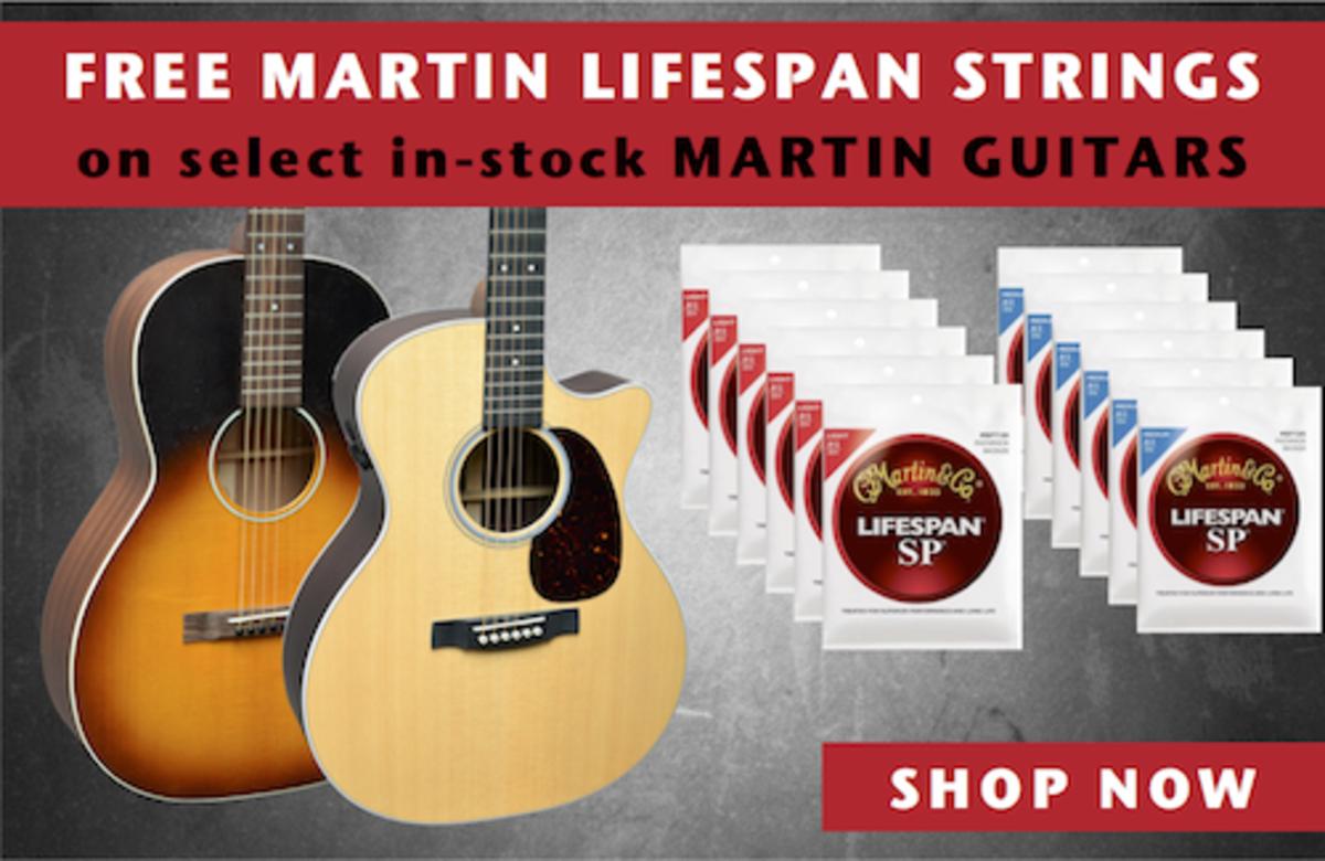 FREE Martin LifeSpan String Offer