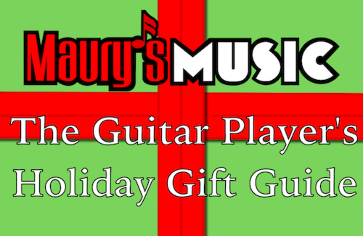 Maury's Music's Holiday Gift Guide
