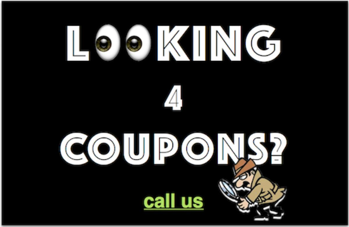 Looking 4 Coupons?