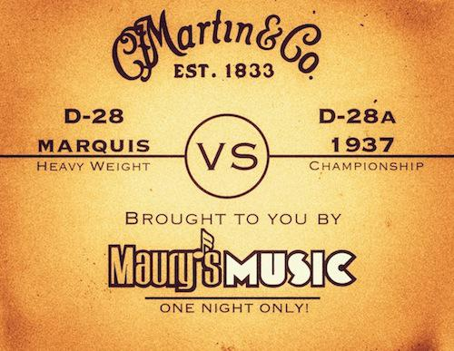 D-28 Marquis vs. D-28 Authentic 1937