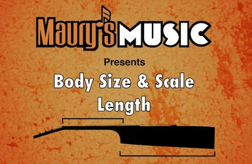 Acoustic Guitar Body Size & Scale Length