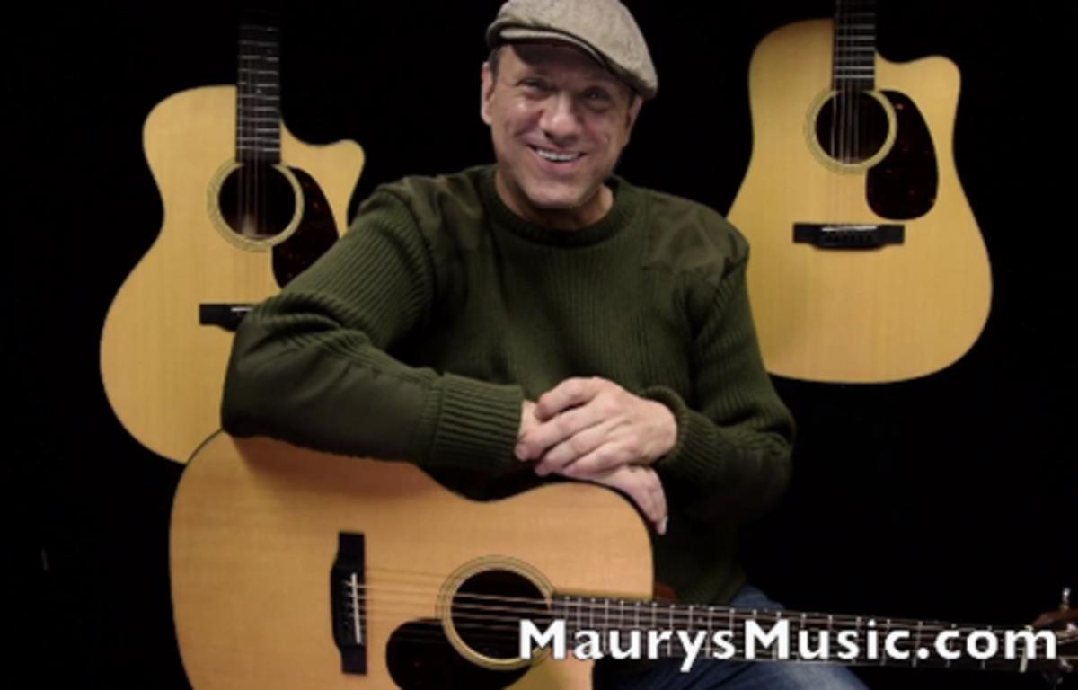 Martin Guitar Body Size Comparison