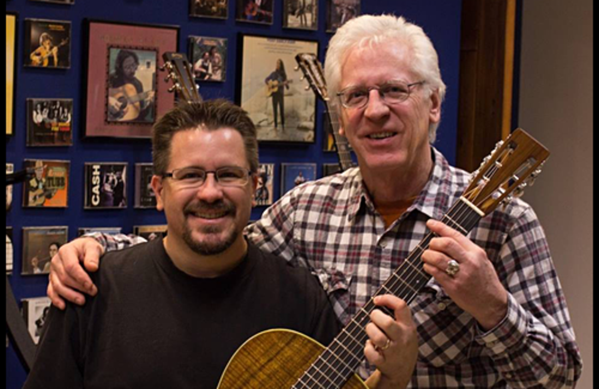 Congratulations to Dick Boak of Martin Guitar!