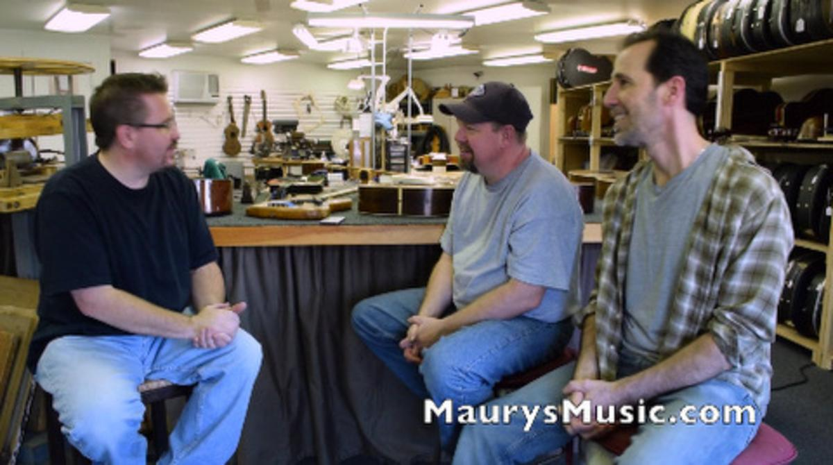 Maury visits Brothers Music Shop