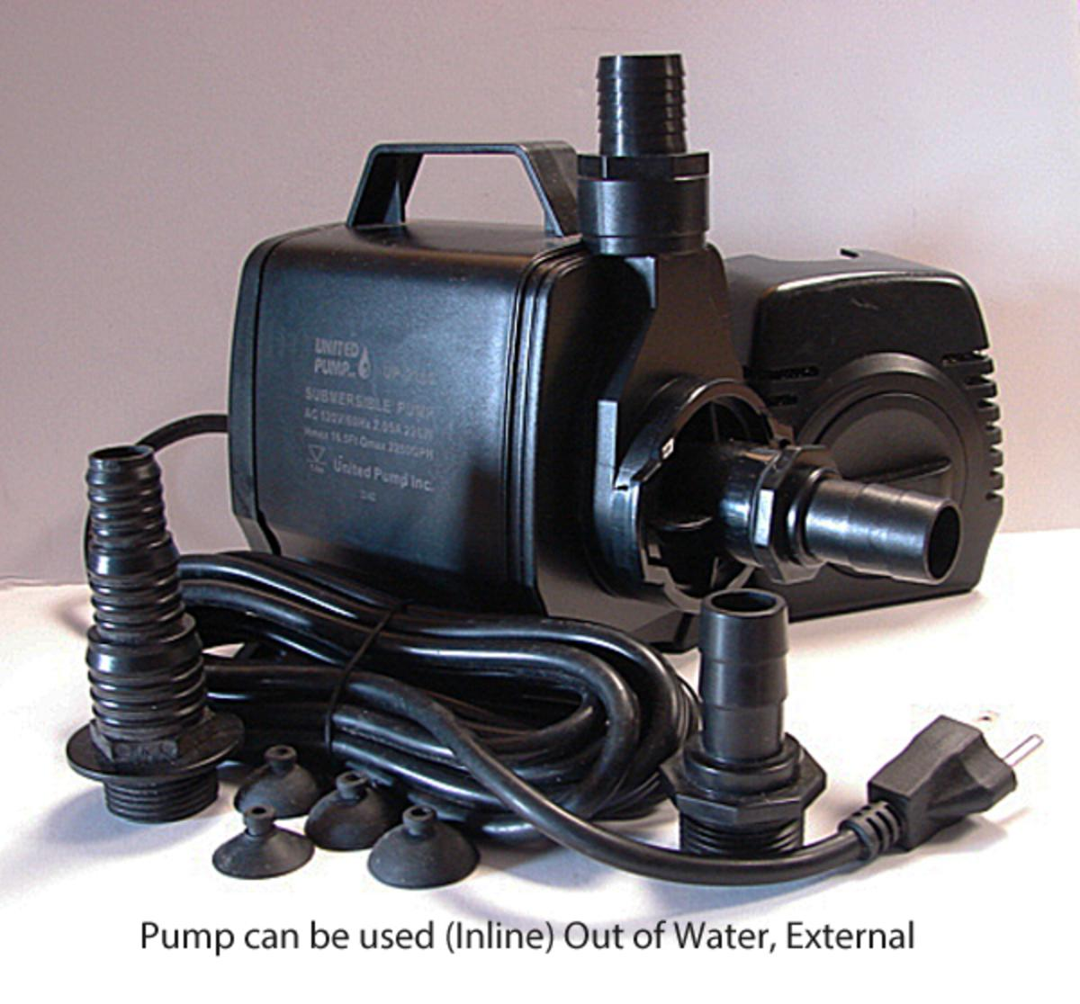 United UP-2160 Fountain Pump