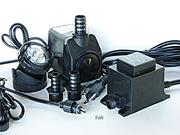 Replaces Peaktop HI 1000L Pump, Jebao PP-399-L, Heissner Pump with Light