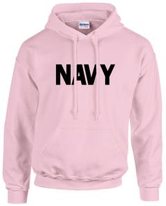 CLEARANCE US Navy Pink Hoodie SIZE LARGE