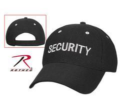 Rothco Black Security Low Profile Insignia Air Mesh Cap