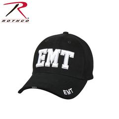 Rothco Deluxe EMT Low Profile Black Cap