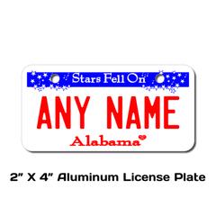 Personalized Alabama 2