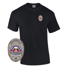 Law Enforcement Badge T-shirt Style 14 Custom Imprinted T-shirt