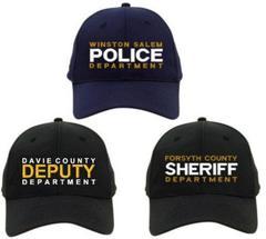 Custom Law Enforcement Embroidered Flexfit Duty Baseball Cap (LEFLEX1) 5b590ccf60b