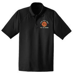 Fire  Rescue Custom Embroidered Snag-Proof Moisture Wicking Tactical Polo