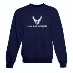 Clearance USAF Navy Blue Sweatshirt SIZE 3XL
