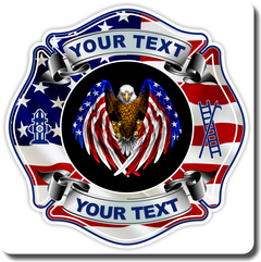 Fire Department Custom Decal
