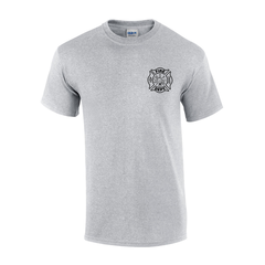 Custom Fire Department Flames T-Shirt