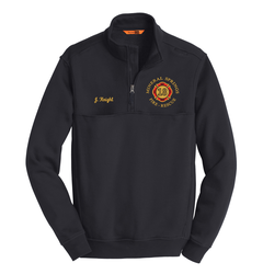 Mineral Springs Fire Department CornerStone 1/2-Zip Job Shirt