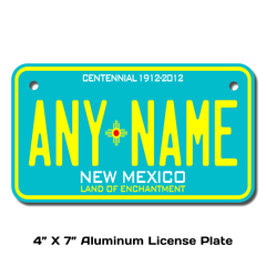 Personalized New Mexico 4