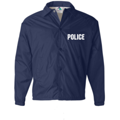CLEARANCE Police Raid Black Jacket SIZE 3XL