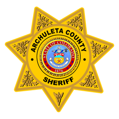 Custom Sheriff Police 7 Point Badge Decal