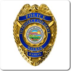Custom Police Badge Vinyl Decal