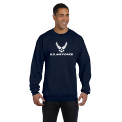 US Air Force Imprinted Sweatshirt By Champion