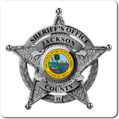 Custom Reflective Sheriff 5 Point Star Badge Decal