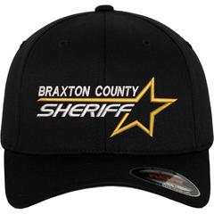 Sheriff Star Custom Flexfit Cap