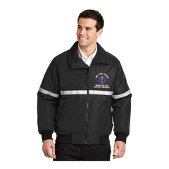 Challenger Jacket w/ Reflective Taping and Custom Embroidery ( Price Includes Custom Embroidery)