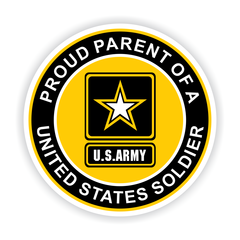 Proud Parent of a United States Soldier Car Magnet
