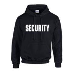 Security Hooded Sweatshirt -Hoodie - Free Shipping