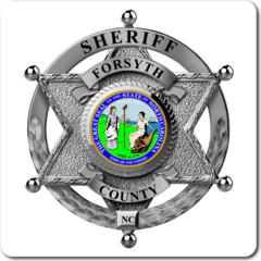 Custom Sheriff 6 point star Badge Vinyl Decal