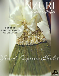 Nzuri Wedding Broom By African American Bridal.com