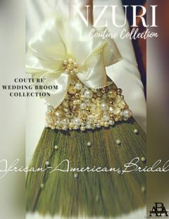 Nzuri Wedding Broom By African American Bridal.com