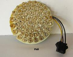 Replacement light kit for 60 LED Color Spot Light