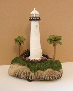 Replica Biloxi Light House from Mississippi