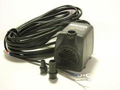 Low voltage AC fountain pump with twenty foot power cord