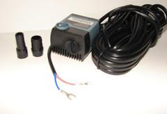 Small underwater low voltage fountain pump