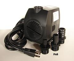 Large submersible indoor or outdoor fountain Pump