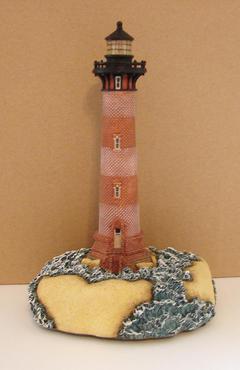 Morris Island of South Carolina replica light house