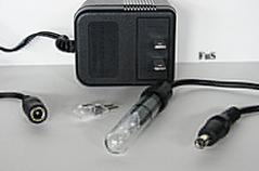 Single submersible tube light, 5 watt under water light, pen light