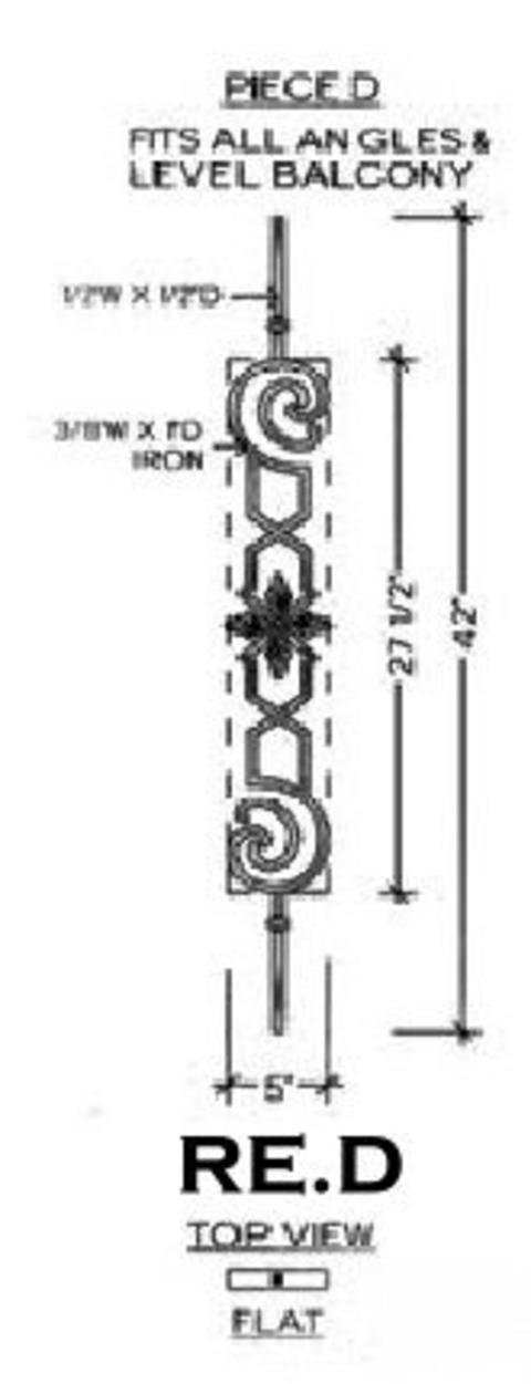 Iron Stair Balusters Call 818 335 7443 Stair Parts, Iron Balusters,stair  Treads, Stair Handrail, Stair Newels, Stair Box Newel   RE.D REGENCY IRON  STAIR ...