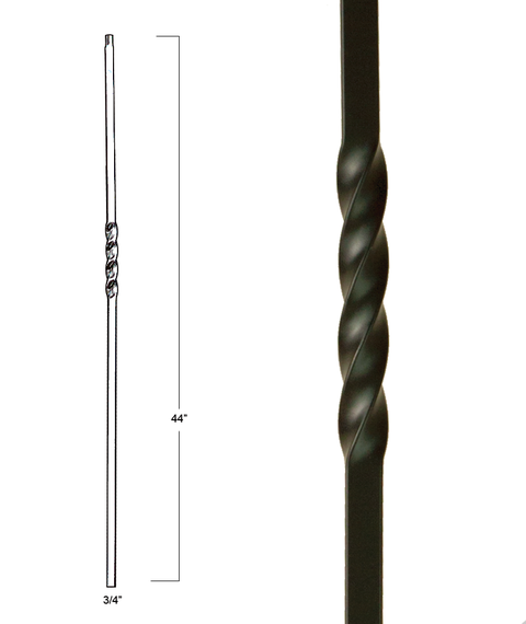 "MEGA 3/4"" IRON BALUSTERS"