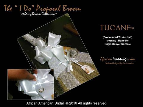 Tuoane Proposal Wedding Jumping Broom