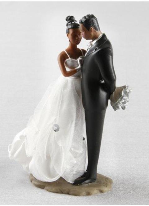 Ty Wilson African American Cake top Figurines