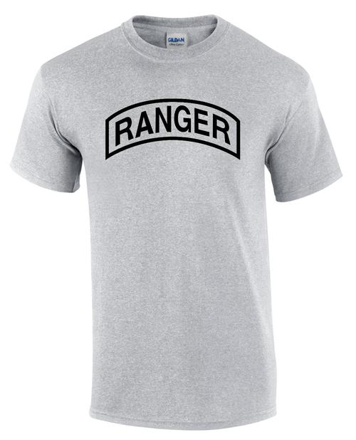 U S Army Ranger T Shirt Teamlogo Com Custom Imprint And Embroidery