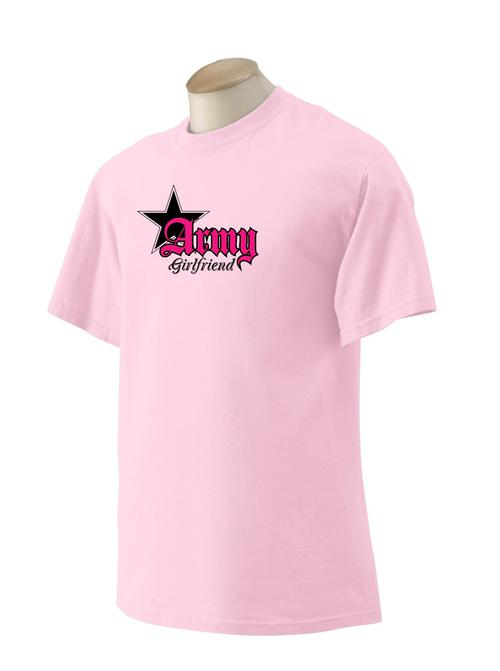 d358d0bd2 Ladies US Army Star T-shirt - Relationships, Girlfriend, Mom, Sister,  Daughter - Teamlogo.com | Custom Imprint and Embroidery