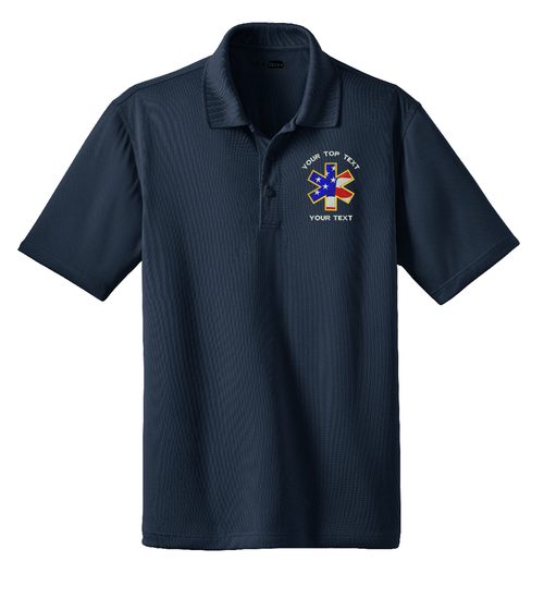 Fire / Rescue Custom Embroidered Snag - Proof Moisture Wicking Polo By CornerStone