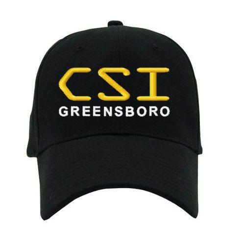 Custom CSI Your City Embroidered Twill Duty Baseball Cap